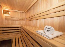 Building custom sauna
