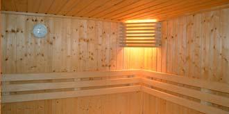 sauna wall